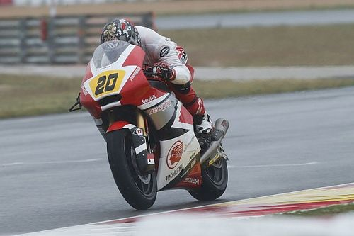CEV Moto2: Dimas Ekky rebut posisi start ketiga