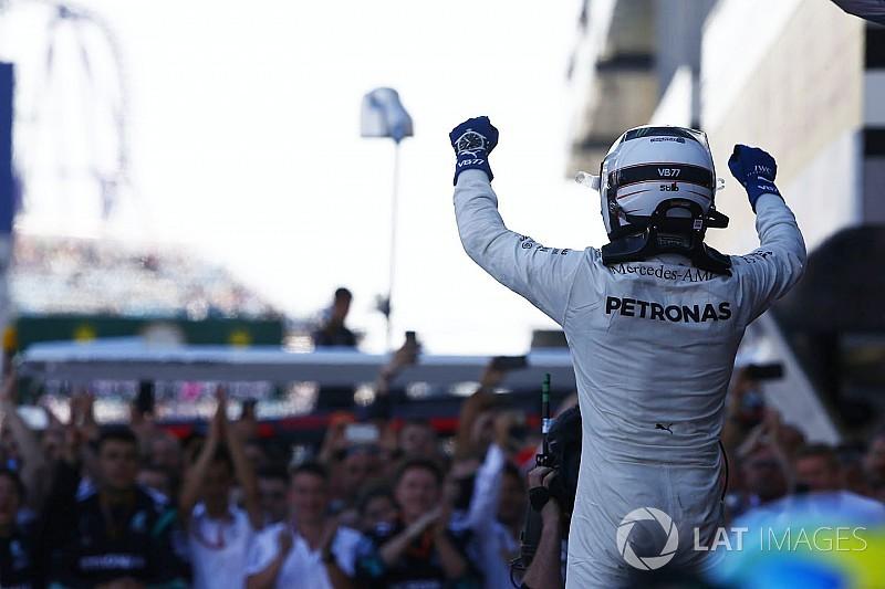 """Hamilton : """"Bottas a gagné sa place chez Mercedes à long terme"""""""
