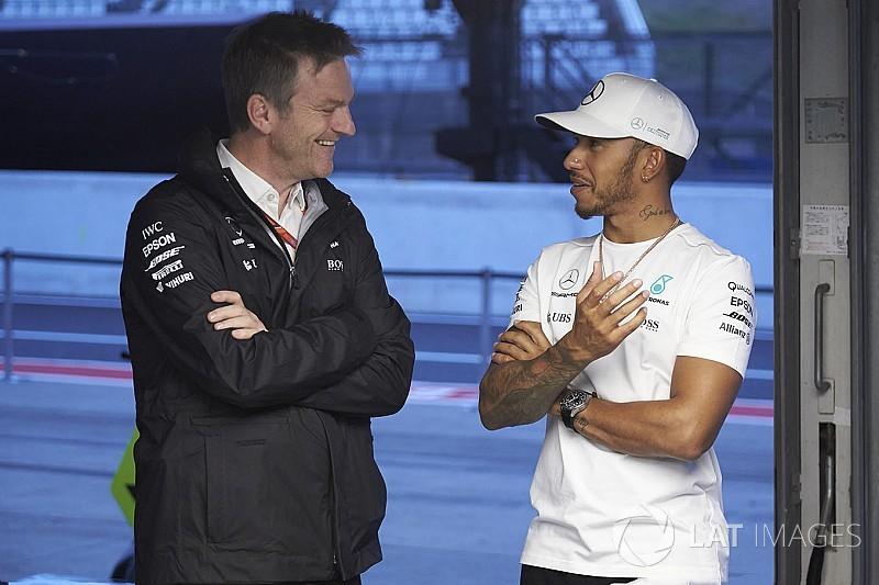 Allison quiso unirse a Mercedes para trabajar con Hamilton