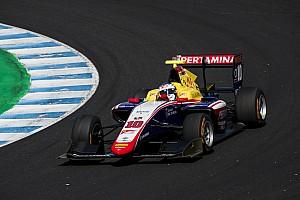 GP3 Nieuws GP3 Jerez: Alesi verliest pole voor tweede race na clash met Lorandi