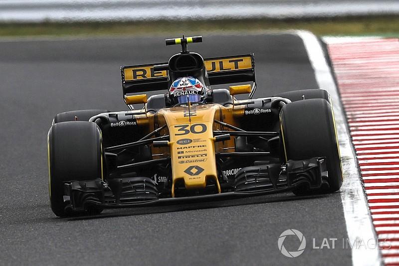 Палмер потеряет 20 мест на старте Гран При Японии