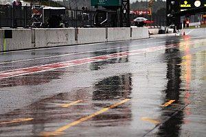 日本大奖赛FP2:大雨搅局,汉密尔顿最快