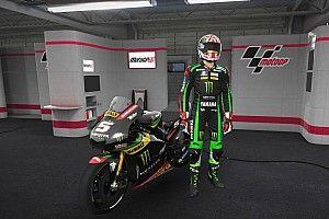 Komparasi pole position perdana Zarco dengan video game MotoGP 17