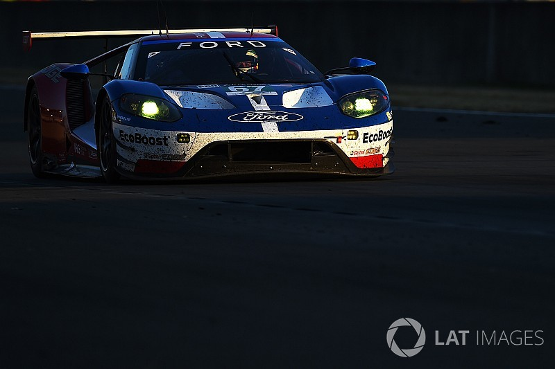 Ken Block Le Mansban egy Ford GT-vel