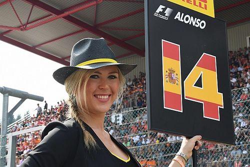 Formel 1 2017: Die schönsten Girls beim GP Belgien in Spa