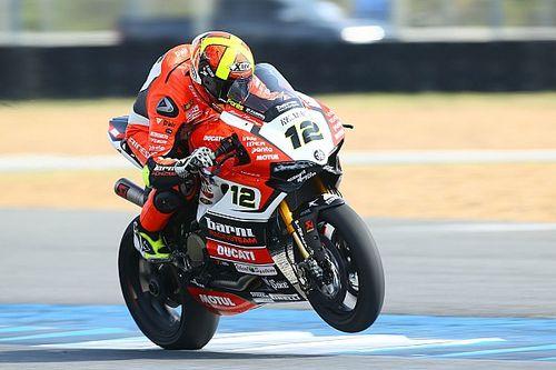 Début de saison réussi pour Forés et sa Ducati privée