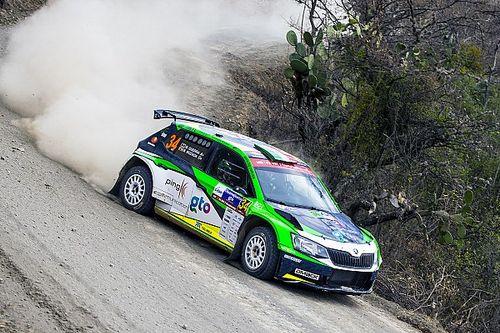 Benito Guerra al Rally di Portogallo con il team Motorsport Italia