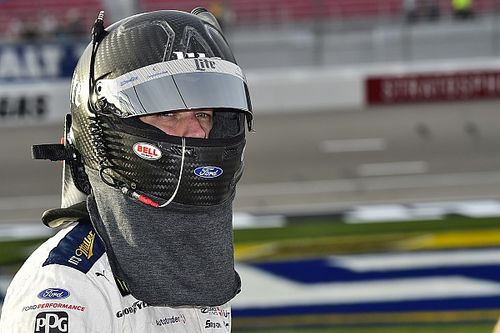"""Keselowski loses win but stays positive: """"We've got a lot to be proud of"""""""