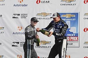 IndyCar Réactions Rahal: Battre un pilote Penske veut toujours dire beaucoup