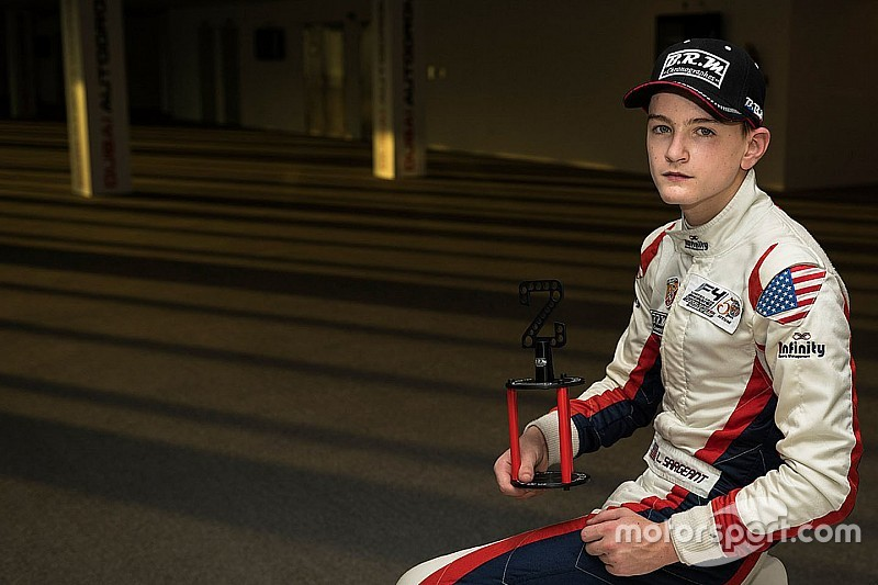 Karting prodigy Sargeant to join British F4 powerhouse Carlin