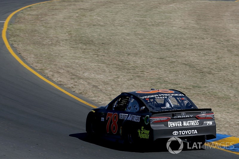 Tire fall-off to play a major role in Sunday's Cup race at Sonoma