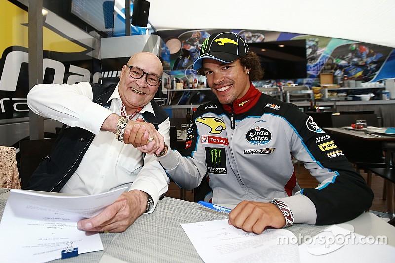 Morbidelli correrá en MotoGP con Marc VDS el año que viene