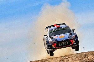 Sardegna, PS17: volano le Hyundai, risposta di Tänak a Latvala