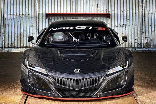 Van der Zande onder de indruk van Honda NSX GT3