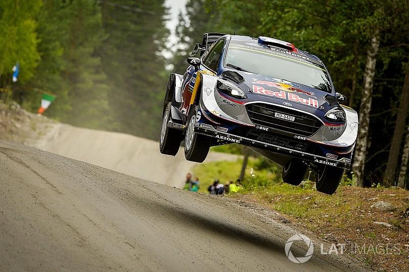 Ogier, Finlandiya'da ilk gün ralli dışı kaldı!