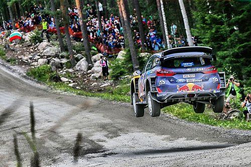 La salud de su copiloto deja fuera a Ogier del sábado de Finlandia