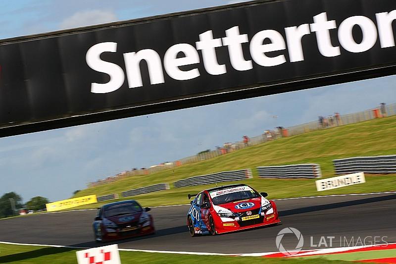Snetterton BTCC: Eurotech Honda's Goff scores maiden pole