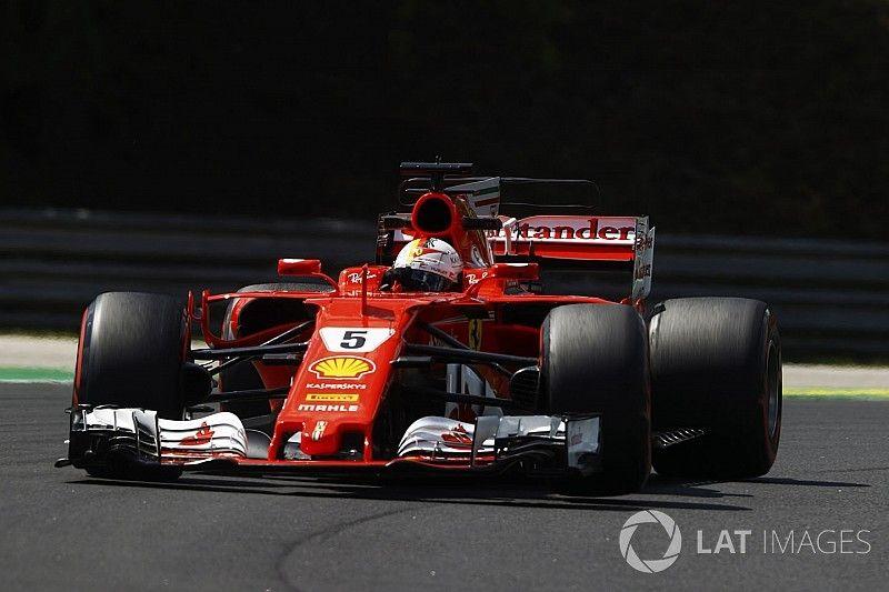"Vettel ""proud"" rivals are complaining about Ferrari"