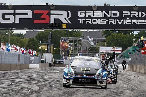 Fransa WRX: Kristoffersson, Loeb'ü yenerek peş peşe dördüncü kez kazandı