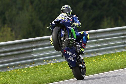 "Rossi dice que una goma ""que no funcionó"" le apartó de la primera fila"