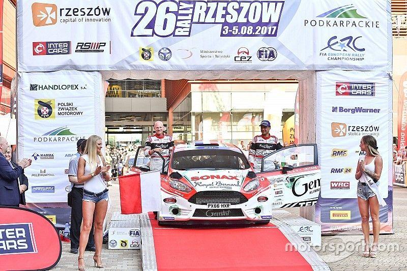 Bouffier vince il Rally Rzeszow, Kajetanowicz è il nuovo leader