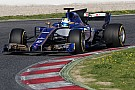 Gallery: Sauber-Ferrari C36 on track in Barcelona