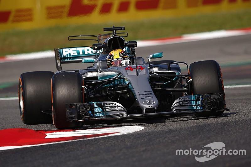 Хэмилтон стал быстрейшим в первой тренировке Гран При Испании