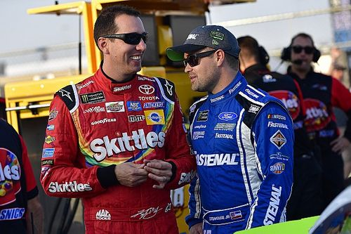 "Ricky Stenhouse Jr. calls out Kyle Busch for ""running his mouth"""