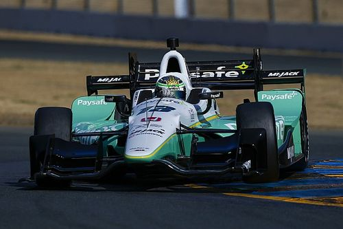 Zach Claman DeMelo on his IndyCar Series debut