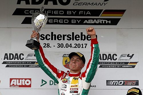 German F4 champion Vips set for F3 debut
