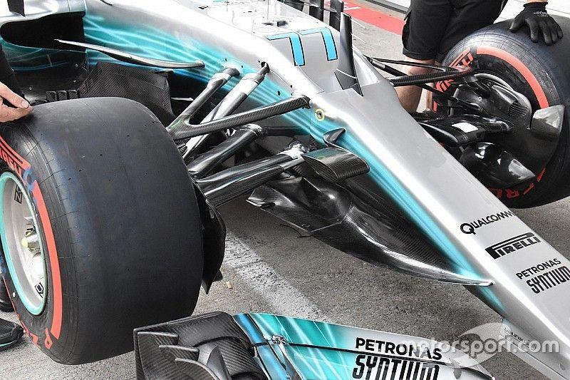 Formel-1-Technik: Detailfotos der Updates für den GP Österreich 2017