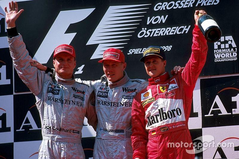 Все победители и призеры Гран При Австрии с 1997 года