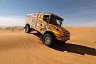 Cross-Country Rally Africa Eco Race: Két gyári Kamaz a magyar Scania mögött