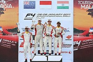 Buriram F4: Gowda ends weekend with another podium