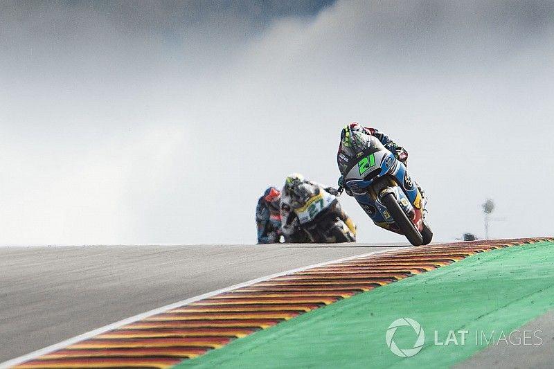 Morbidelli voor Marquez in spannende kwalificatie op de Sachsenring