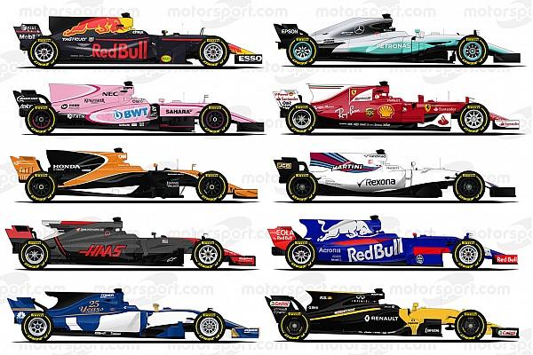 Galeri: Pembalap dan tim Formula 1 2017