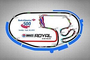NASCAR divulga calendário 2018 com uso do misto de Charlotte