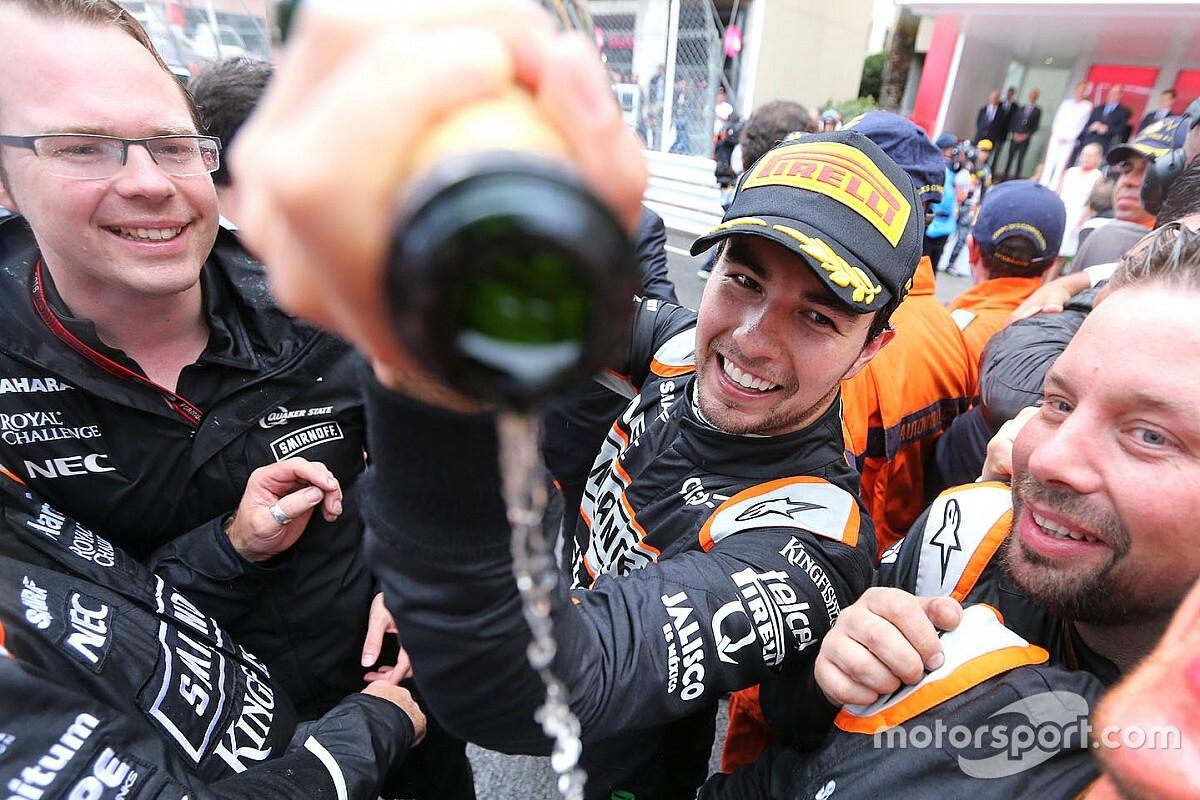 El día que Sergio Pérez y Mónaco hicieron las paces