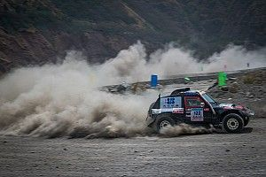 第十三届中国东川泥石流越野赛开战 王翔排位赛最快