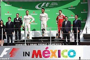 メキシコGP決勝タイム速報:ハミルトン2連勝目、再びポール・トゥ・ウィンを決める