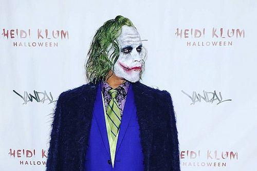 Hamilton 'Joker' oldu