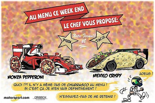 L'humeur de Cirebox - Monza et Mexico au menu ce week-end !
