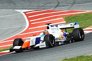 Kanamaru ends F3.5 Barcelona test on top