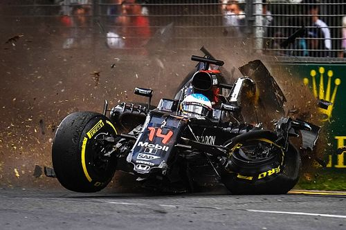 McLaren Honda: Race and accident report from the Australian GP