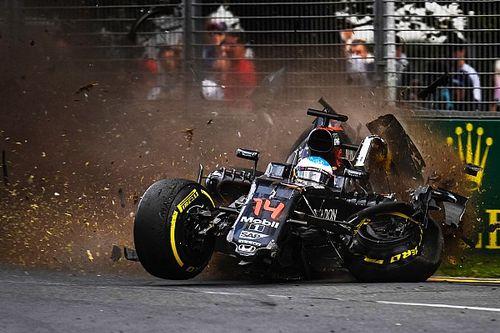 A roncs, amiből Alonso élve szállt ki