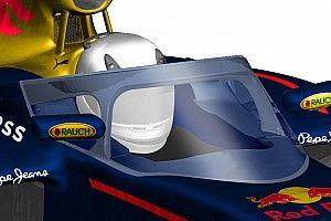 Il parabrezza Red Bull potrebbe essere approvato per il 2017