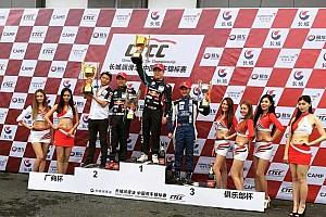 中国房车锦标赛CTCC 比赛报告 CTCC揭幕战:韩寒末圈退赛 1.6T组别三英并立