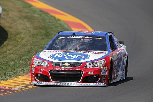 Allmendinger tops final Cup practice at Watkins Glen