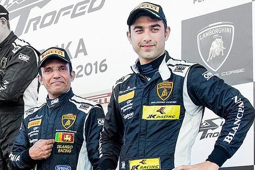 Suzuka Super Trofeo: Podium for Ebrahim/Malagamuwa in Race 1