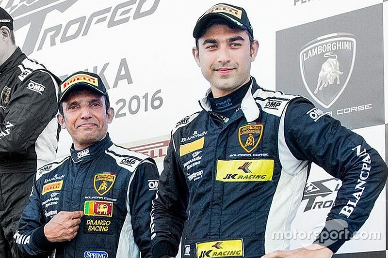 Suzuka Super Trofeo: Podium for Ebrahim/Malagamuwa in Race 1